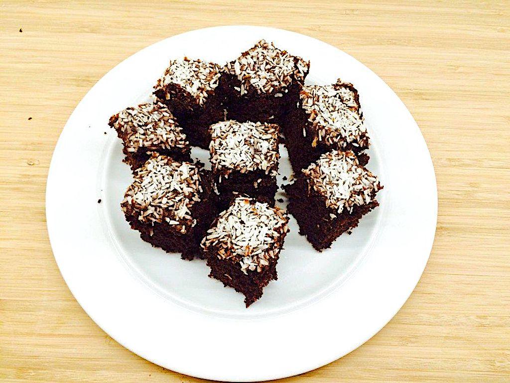 Verdens bedste chokoladekage med kokos
